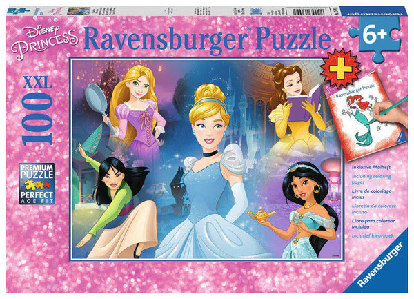 Ravensburger 100pc Puzzle Disney Princess - Charming Princesses-Ravensburger-booksrusandmore