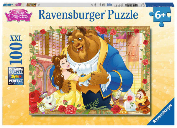 Ravensburger 100pc Puzzle Disney Princess Belle And Beast-Ravensburger-booksrusandmore
