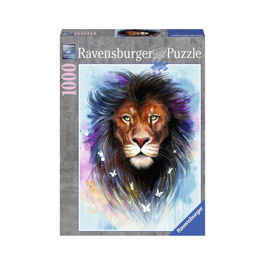 Ravensburger 1000pc Puzzle Majestic Lion-Modern Brands-booksrusandmore