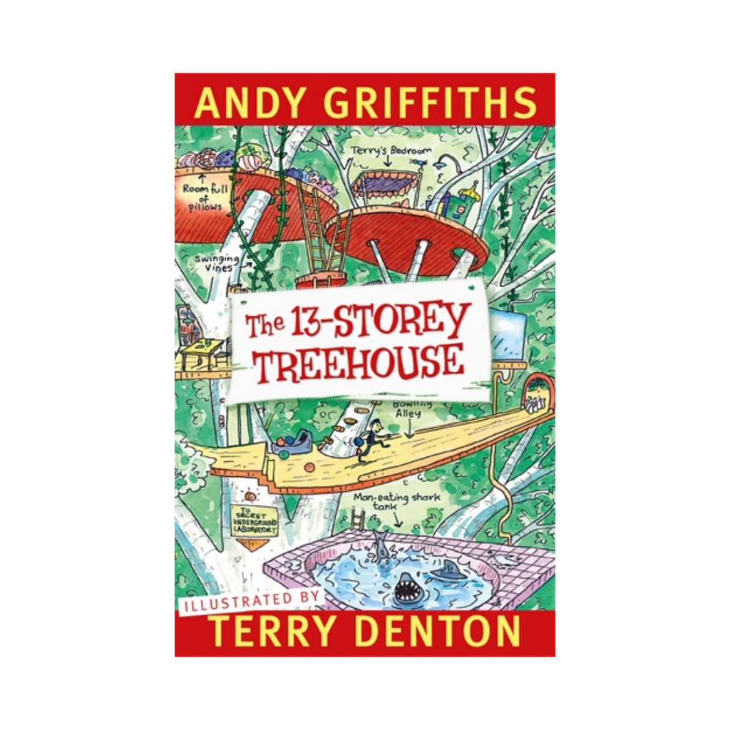 Andy Griffiths The 13 Storey Treehouse-Pan Macmillan-booksrusandmore