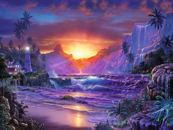 Ravensburger 1500pc Puzzle Sunrise In Paradies-Ravensburger-booksrusandmore