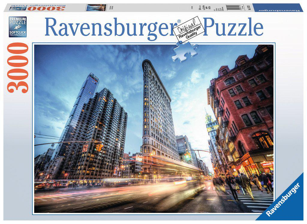 Ravensburger 3000pc Puzzle Flat Iron Building-Ravensburger-booksrusandmore