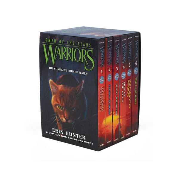 Warriors Omen Of The Stars Box Set Volumes 1 to 6 by Erin Hunter