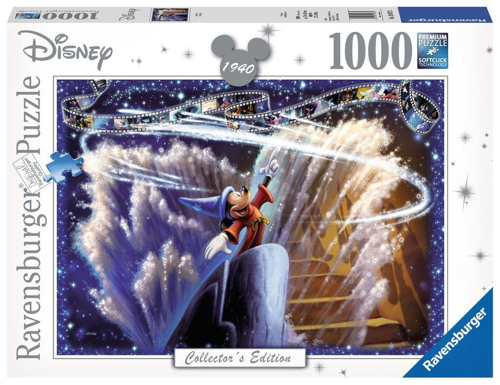 Ravensburger 1000pc Puzzle Disney 1940 Fantasia-Ravensburger-booksrusandmore