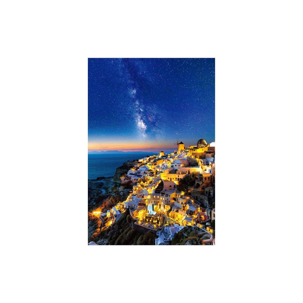 Beverly Santorini in the starry sky 1000pc