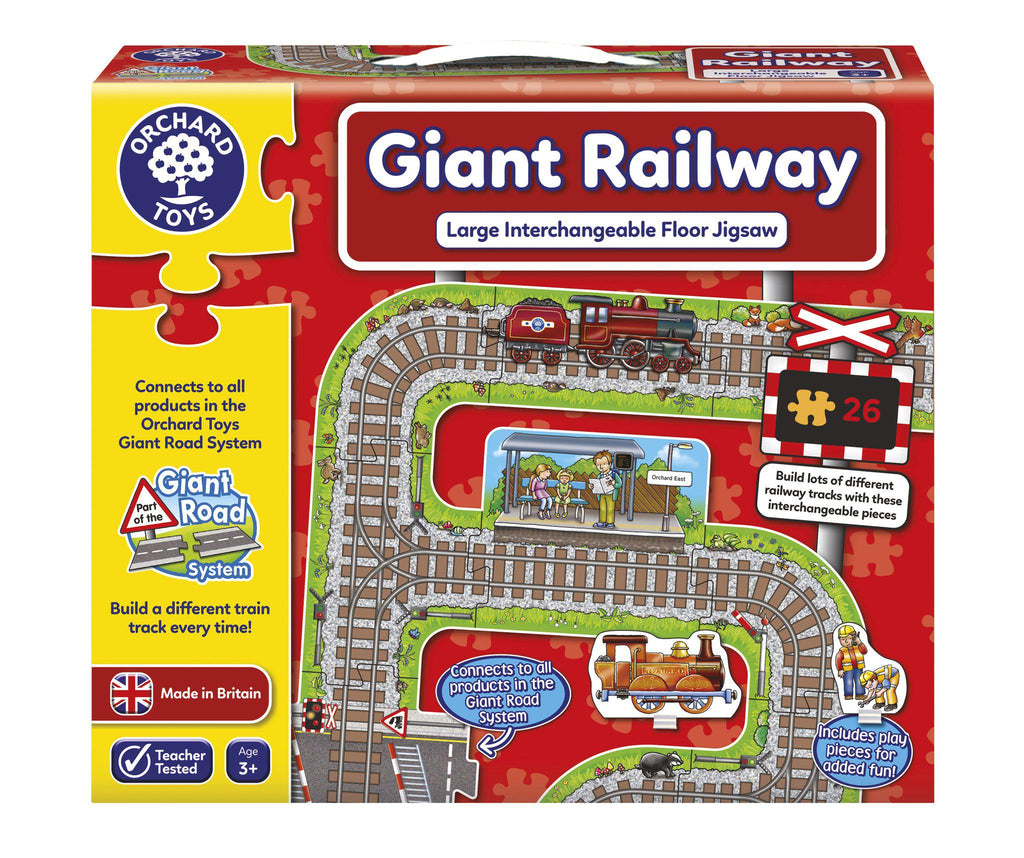Orchard Toys Giant Road Expansion Pack Station-Modern Brands-booksrusandmore