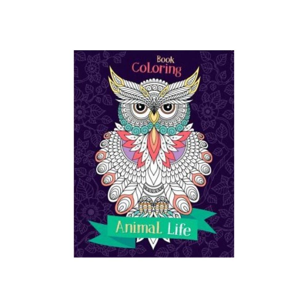 Animal Life Colouring Book