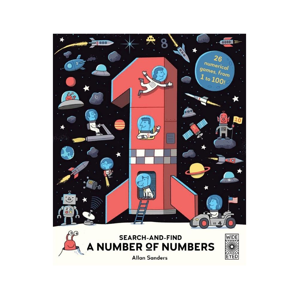 A Number Of Numbers Search-And-Find by Allan Sanders