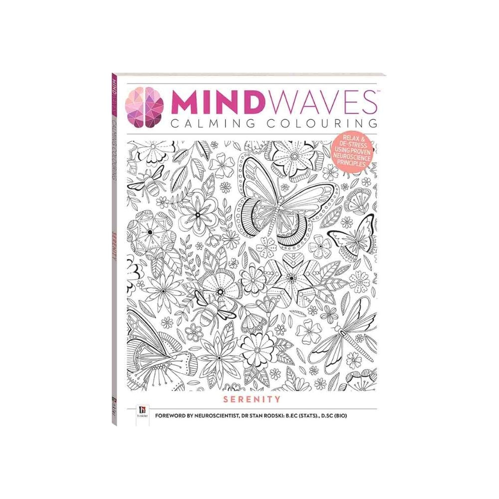Mindwaves Calming Colouring Serenity