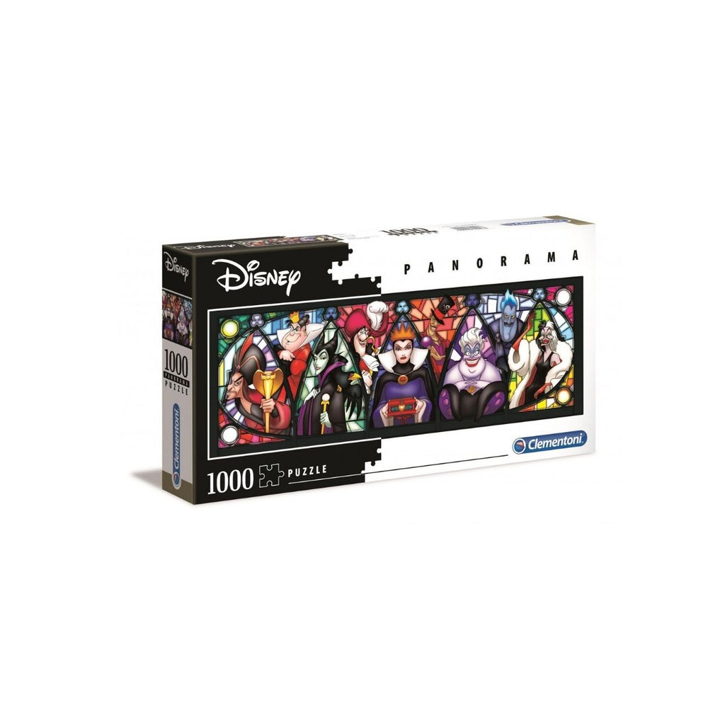 Clementoni 1000pc Puzzle Disney Villans