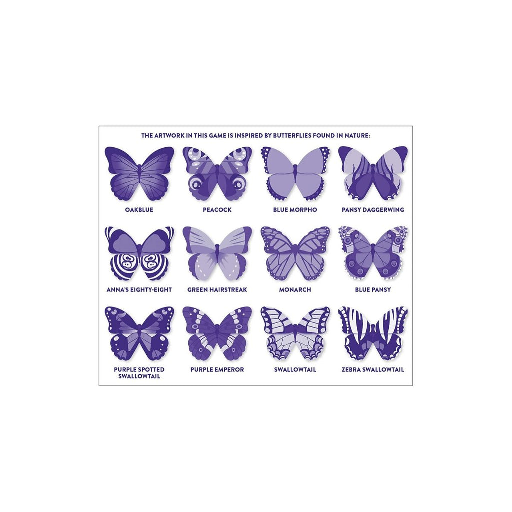 Mudpuppy Shaped Memory Match Butterflies