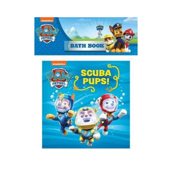 Paw Patrol Scuba Pups Bath Book