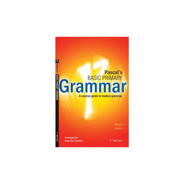 Pascals Basic Primary GrammermYears 3-6