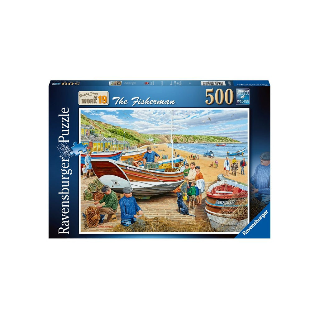 Ravensburger 500pc Puzzle The Fisherman