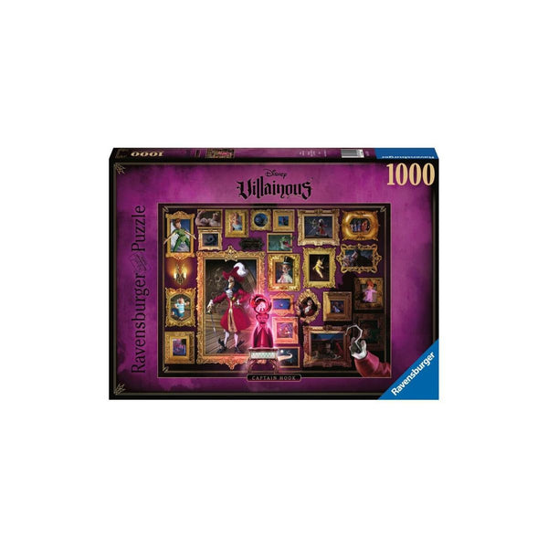 Ravensburger 1000pc Puzzle Disney Villainous Captain Hook