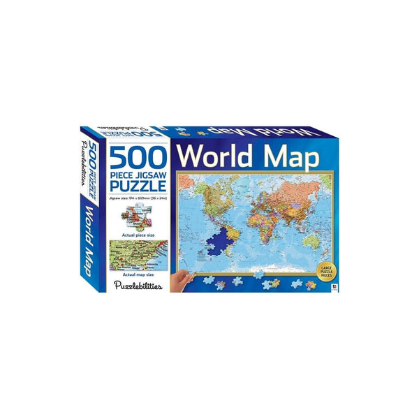 World Map 500pc Puzzle