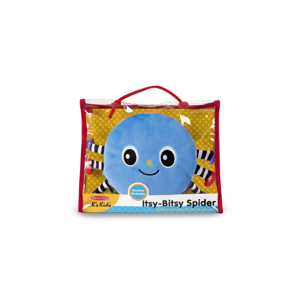Melissa & Doug The Itsy-Bitsy Spider Cloth Book