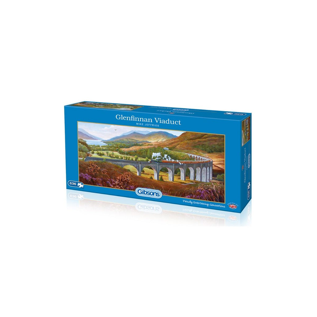 Gibsons 636pc Puzzle Glenfinnan Viaduct