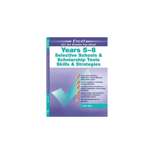 Excel Yrs 5-6 Selective Schools and Scholarship Skills and Strategies