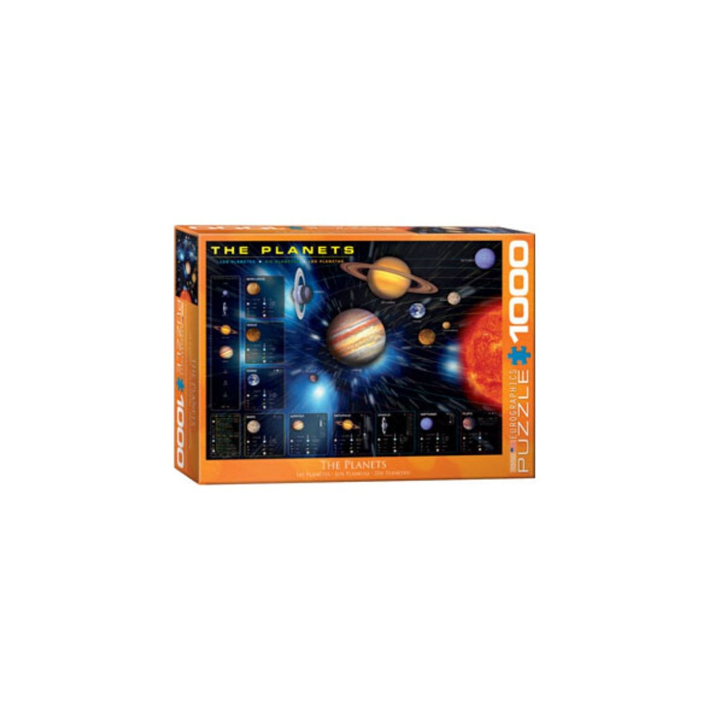 Eurographics 1000pc Puzzle The Planets