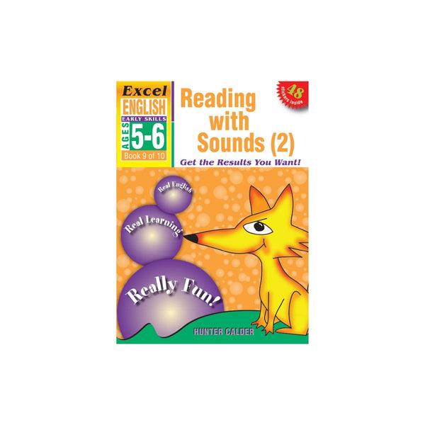 Excel Early Skills English Bk 9Reading with Sounds 2