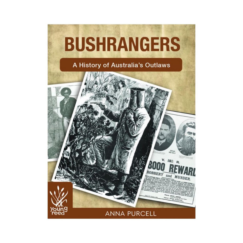 Bushrangers A History of Australia's Outlaws by Anna Purcel-New Holland-booksrusandmore