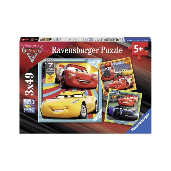 Ravensburger 3 x 49 Piece Puzzles Disney Cars 3 Legends of the Track