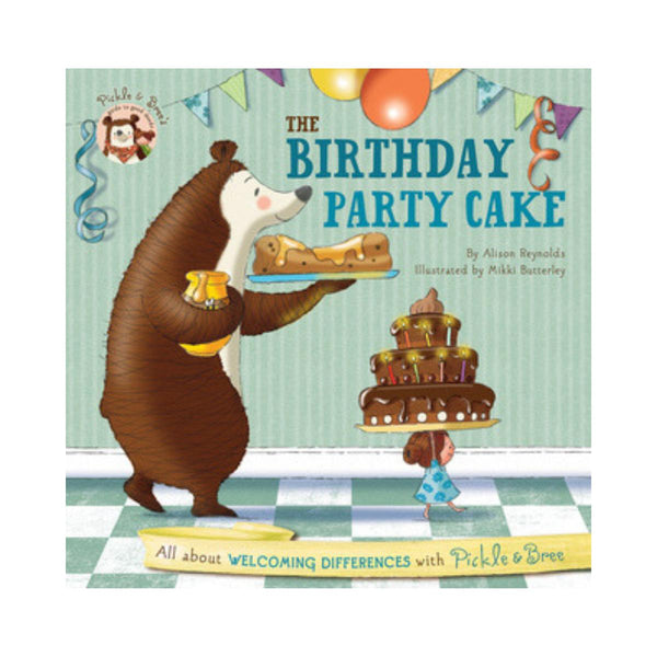 The Birthday Party Cake by Alison Reynolds-Clifford Remainders-booksrusandmore