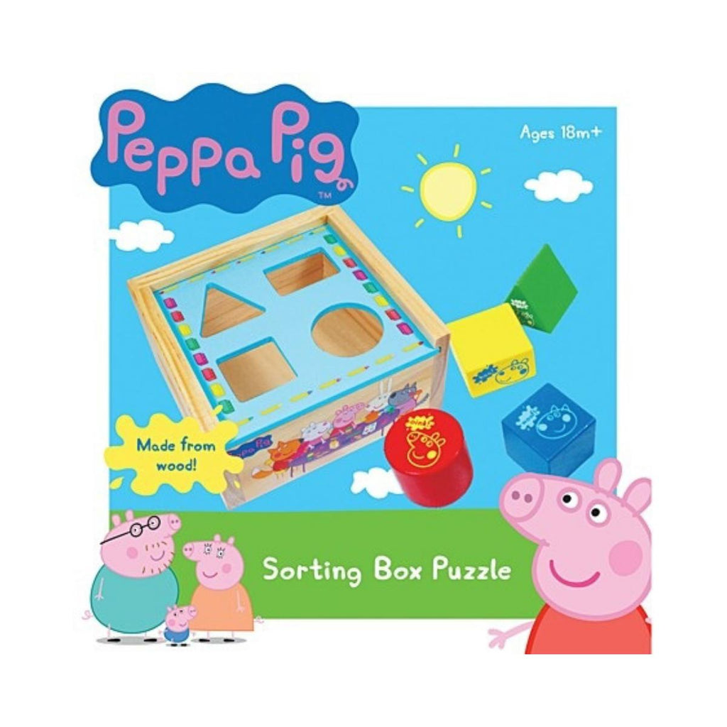 Peppa Pig Sorting Box Puzzle