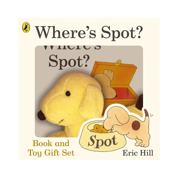 Where's Spot? - Spot Book & Toy by Eric Hill