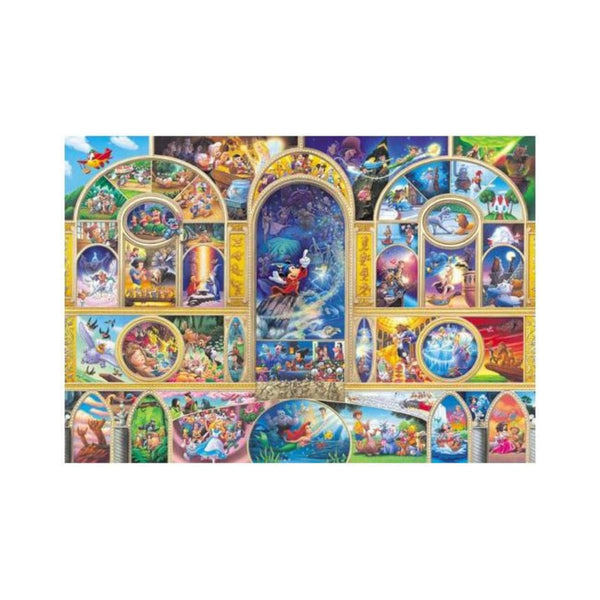 Tenyo Disney All Star Dream Puzzle 500 pieces-VR Distribution-booksrusandmore