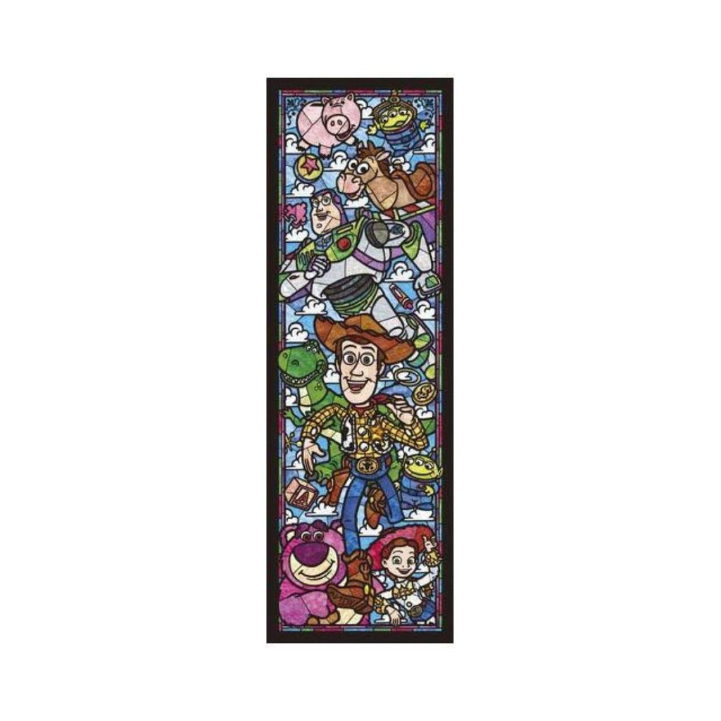 Tenyo Disney Toy Story Stained Glass Puzzle 456 pieces-VR Distribution-booksrusandmore