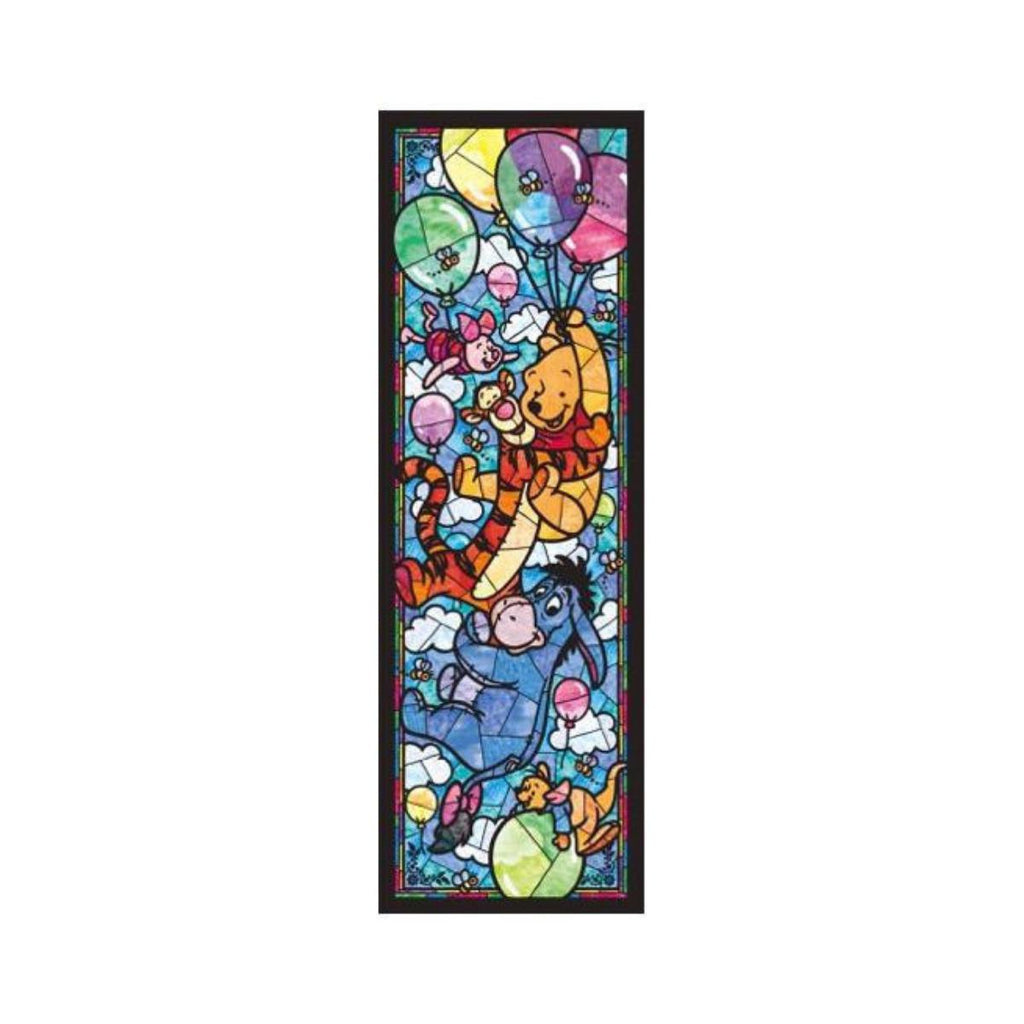 Tenyo Disney Winnie the Pooh Stained Glass Puzzle 456 pieces-VR Distribution-booksrusandmore