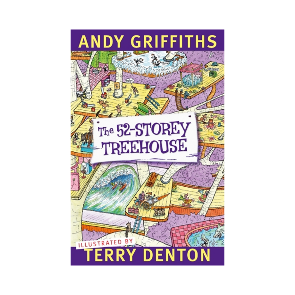 Andy Griffiths The 52 Storey Treehouse-Pan Macmillan-booksrusandmore