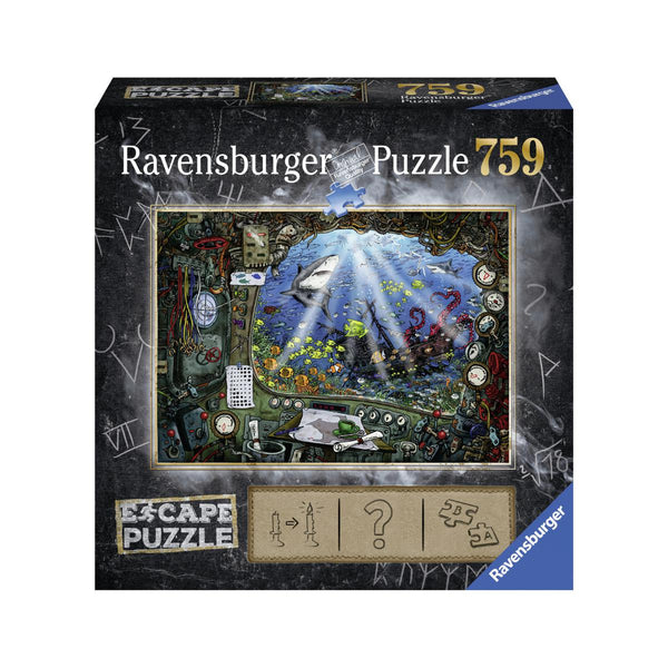 Ravensburger 759pc Escape Puzzle Submarine-Ravensburger-booksrusandmore