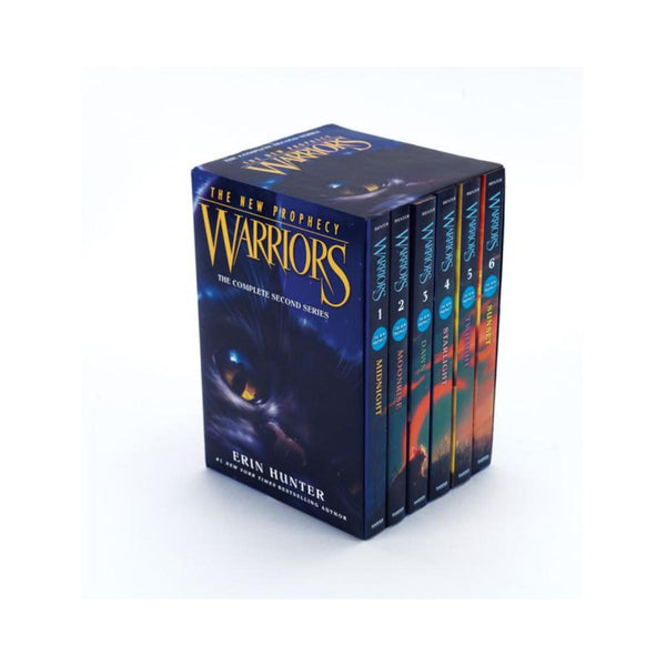 Warriors The New Prophecy The Complete 2nd Series Volumes 1 to 6 by Erin Hunter