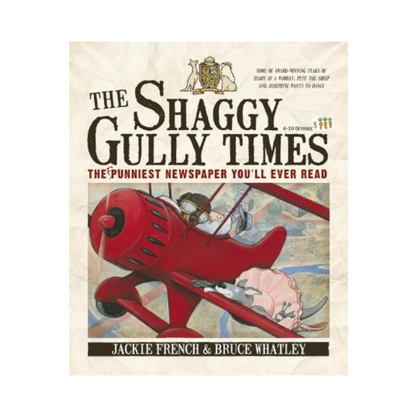 The Shaggy Gully Times By Jackie French-Harper Collins-booksrusandmore