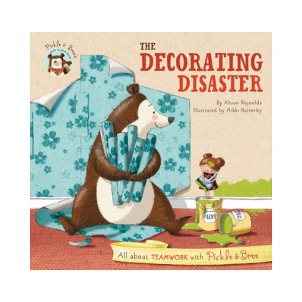 The Decorating Disater by Alison Reynolds-Clifford Remainders-booksrusandmore