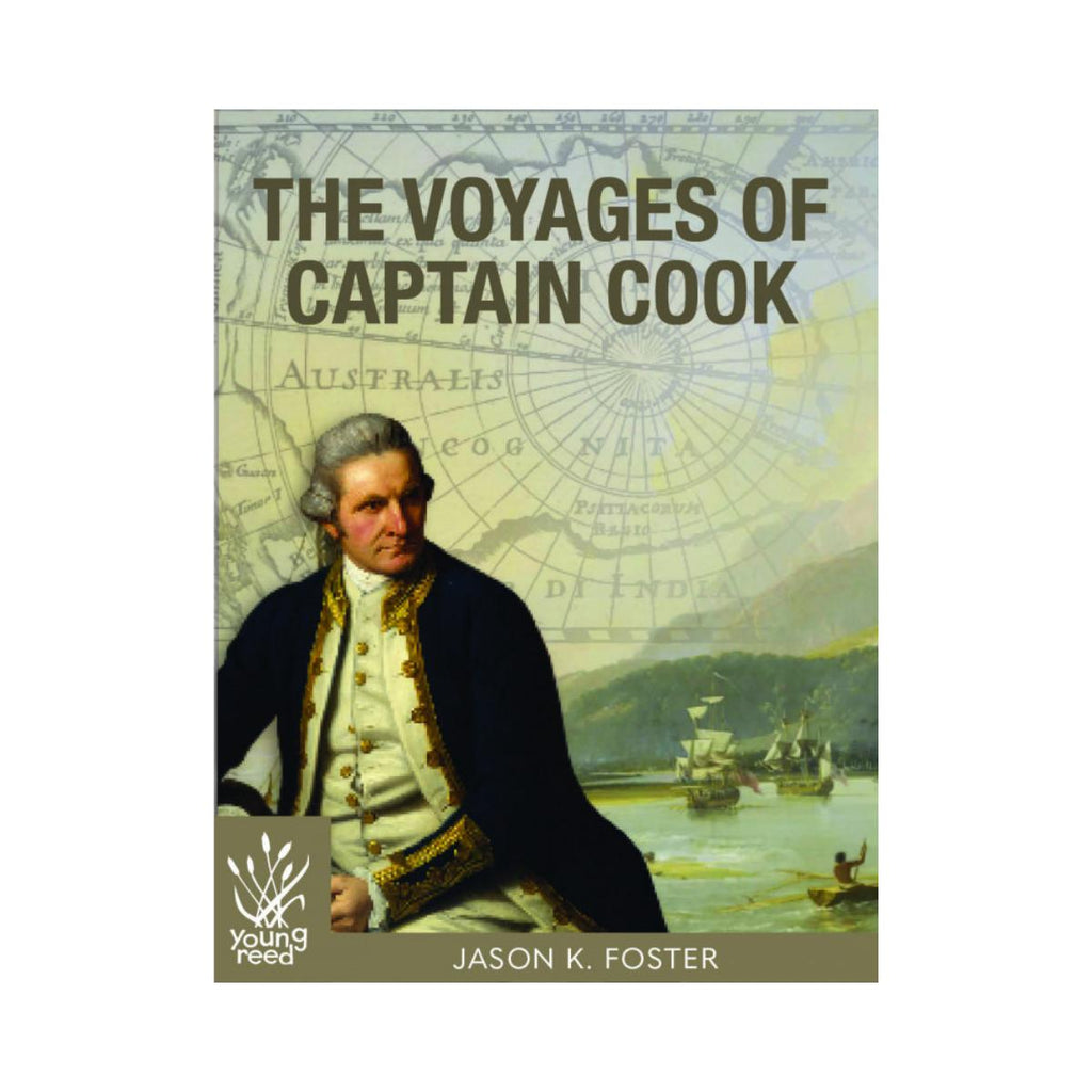 The Voyages of Captain Cook by Jason K. Foster-New Holland-booksrusandmore
