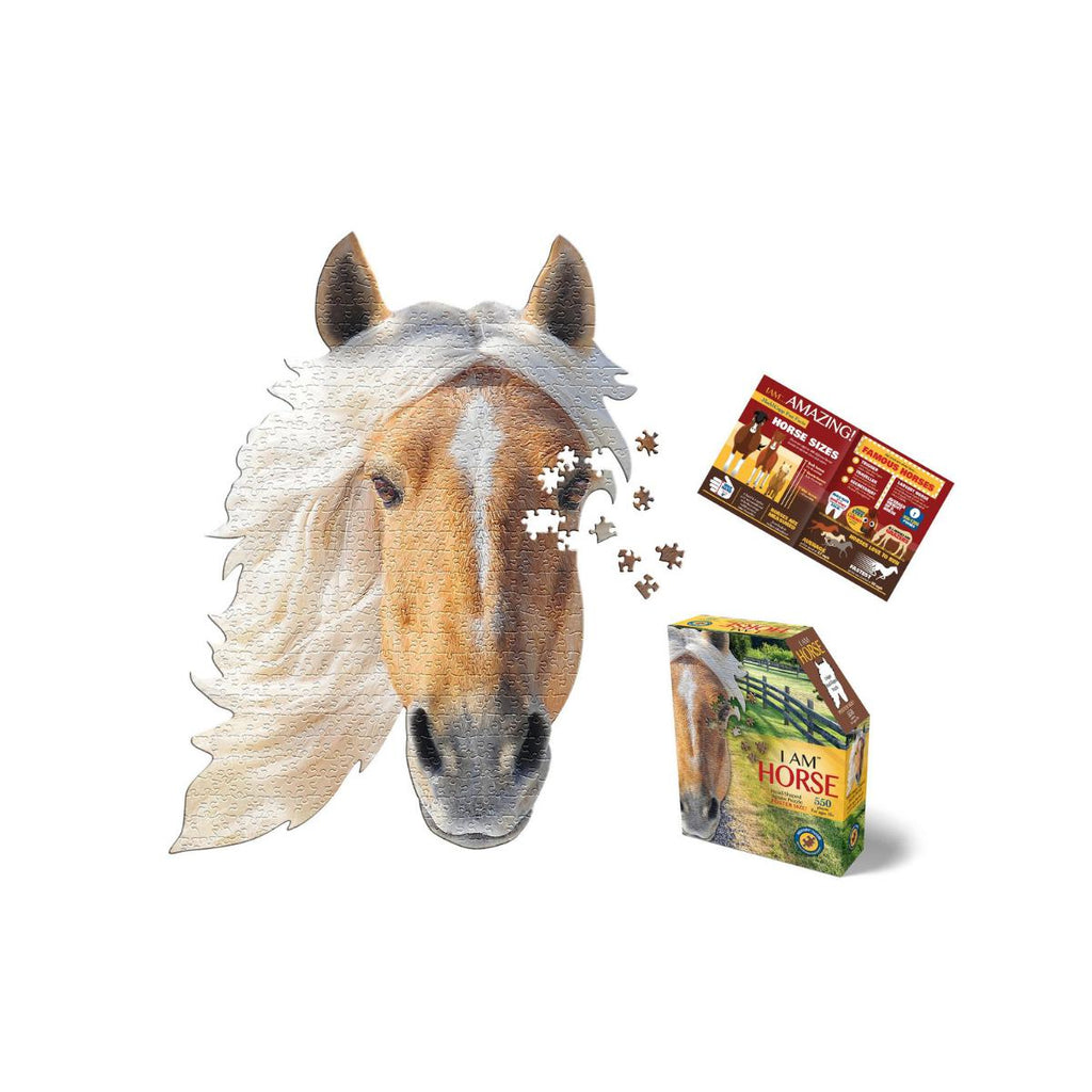 Madd Capp 550 piece  Shaped Puzzle I Am Horse
