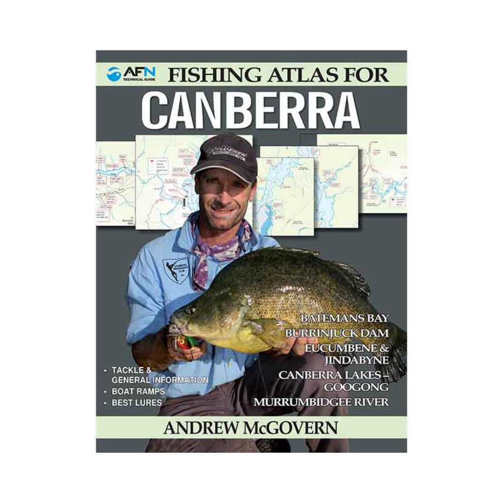 Fishing Guide To Canberra-AFN-booksrusandmore