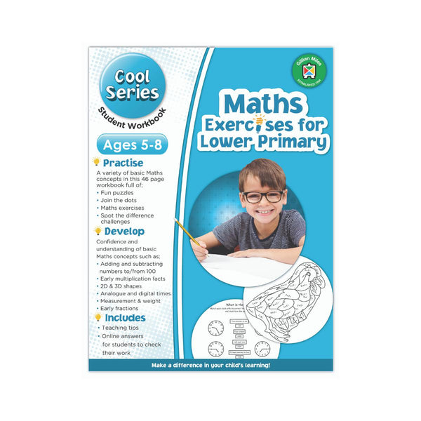 Cool Series Maths Exercises for Lower Primary by Gillian Miles