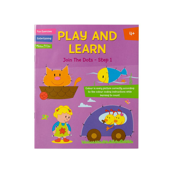 Play and Learn Join The Dots - Step 1 by Gillian Miles
