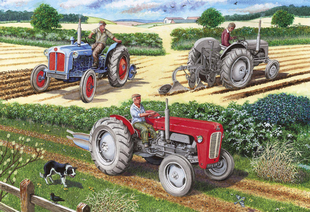 Gibsons 500pc Puzzle The Ploughing Match-Gibsons-booksrusandmore