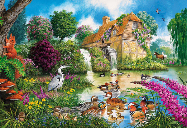 Gibsons 500pc Puzzle The Old Watermill-Gibsons-booksrusandmore