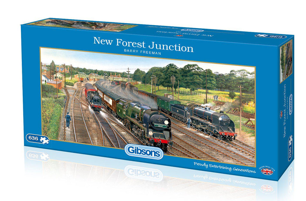 Gibsons 636pc Puzzle New Forest Function-Gibsons-booksrusandmore