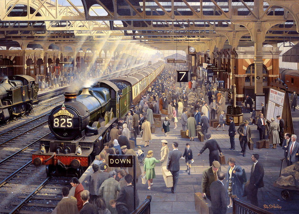 Gibsons 1000pc Puzzle Summer Saturday At Snow Hill-Gibsons-booksrusandmore
