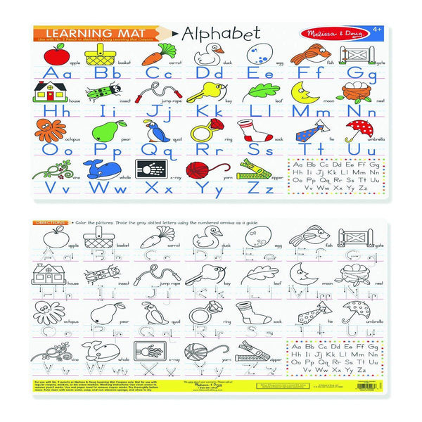 Melissa and Doug Learning Mat Alphabet