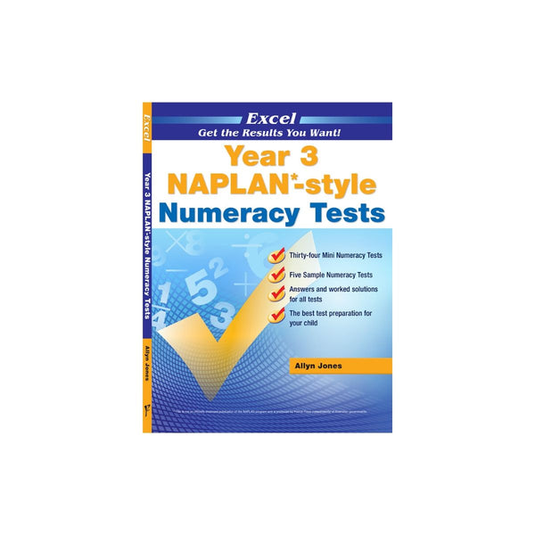Naplan Style Numeracy Test Year 3