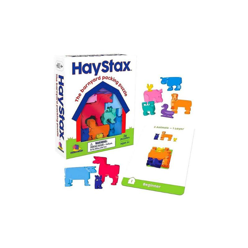 Haystax The Barnyard packing puzzle-Jedko-booksrusandmore